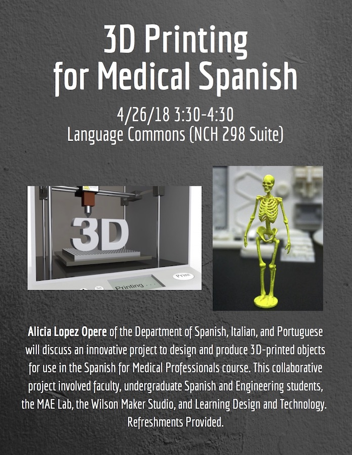 3D printing for Medical Spanish