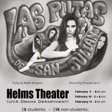 "UVa Spanish Theater Group presents ""Las putas de San Julián"""