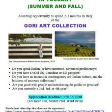 Summer Intership In Italy: Gori Intership Announcement
