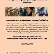 "Symposium ""Through Their Gazes: Screening Women and Feminism"""