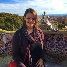 Rachel West Wins University Graduate Teaching Award