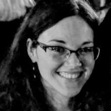 black and white headshot of allison bigelow, providence, ri, may 2018